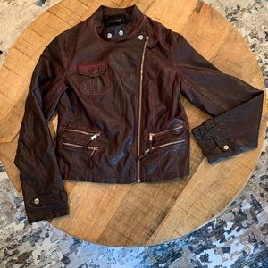Vintage faux leather jacket